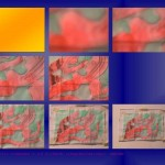 Dimitri Dimitriadès. Projet E2 – ζ. (Zêta) 17. 2008-2009. Photographie. « Bêta 98 », Le Doigt dans l'œil. (Project E2 – ζ. (Zeta) 17. 2008-2009. Photography. Beta 98 », The Finger in the Eye.)