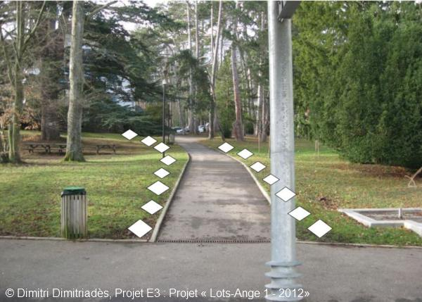 Projet E3 –Projet « Lots-Ange 1 », L'idée. 2012 (Project « Lots-Angel 1 », The idea, 2012.)
