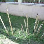 Dimitri Dimitriadès, Projet E3 –Projet «Sculptur'E2 - La Désunion ralentit, ou l'Escargot», 2011. (Project «Sculptur'E», 2011.)