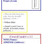 Projet E3 – Projet «E'nvoi», étape 11: détail des adresses. 2013. (Project «E'Card», step 11 : detail of the adresses. 2013.)